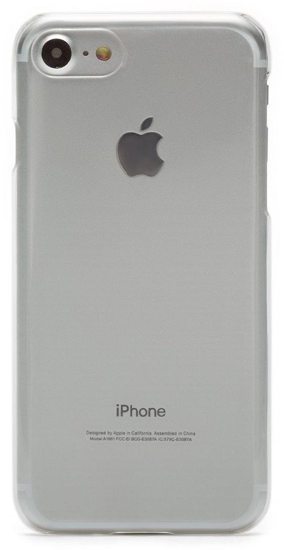 uBear Tone Case чехол для iPhone 7, ClearCS17TR01-I7Чехол uBear Tone Case для для iPhone 7 выполнен из твердого пластика толщиной 0,8 мм. Легкий утонченный дизайн подчеркивает красоту смартфона. Обеспечивает надежную защиту вашего устройства. Чехол обеспечивает свободный доступ ко всем функциональным кнопкам и разъемам смартфона.