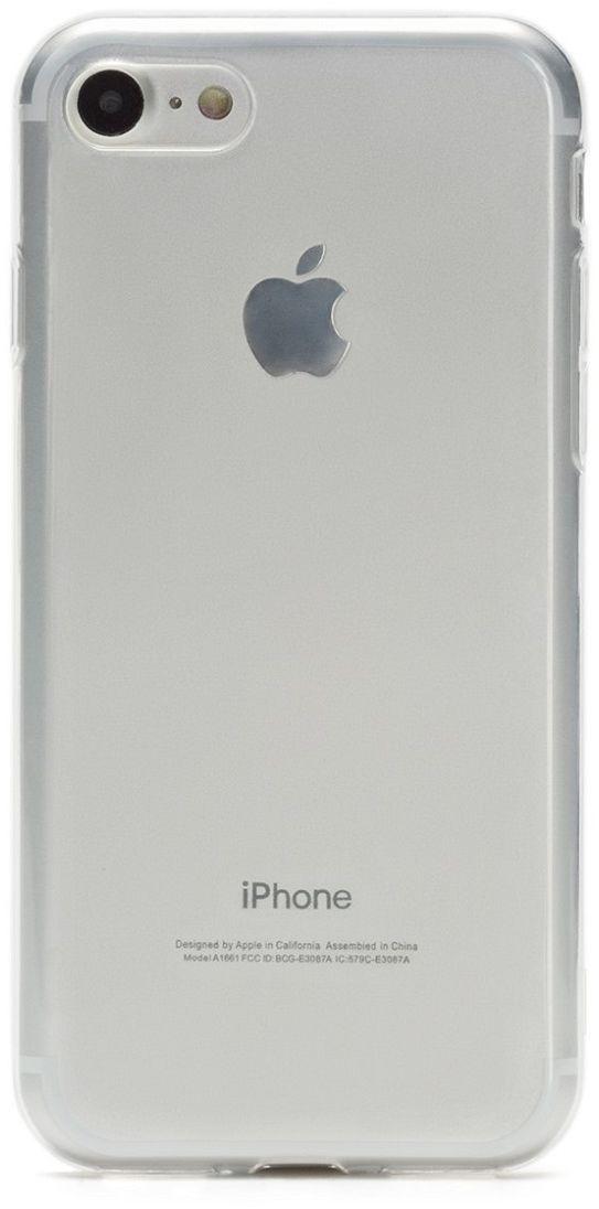 uBear Soft Tone Case чехол для iPhone 7 Black Onyx, Clear аксессуар чехол аккумулятор aksberry 2800 mah для iphone 7 black onyx