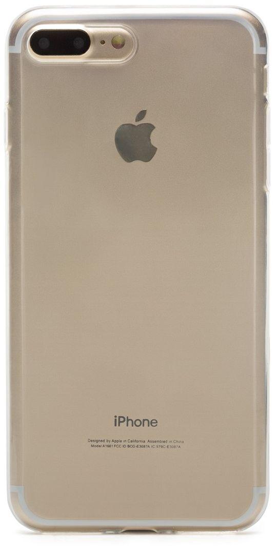 uBear Soft Tone Case чехол для iPhone 7 Plus, ClearCS20TR01-I7PЧехол uBear Soft Tone Case для для iPhone 7 Plus выполнен из мягкого силикона с Anti-scratch покрытием от царапин. Благодаря Anti-slip покрытию чехол не скользит в руках. Легкий утонченный дизайн, подчеркивающий красоту смартфона. Безупречная защита вашего устройства. Чехол обеспечивает свободный доступ ко всем функциональным кнопкам и разъемам смартфона.