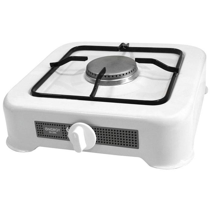 Energy EN-209A, White настольная плита54 144032Energy EN-209A - сверхкомпактная настольная плита, которая работает на сжиженном нефтяном газе. Благодаря своим габаритам, данная модель отлично подойдет для маленькой кухни на даче. Она изготовлена из качественных материалов и прослужит вам долгое время. Давление газа: 2800 Pa Мощность: 3200 Вт