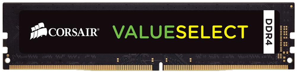 Corsair ValueSelect DDR4 16Gb 2133 МГц модуль оперативной памяти (CMV16GX4M1A2133C15)CMV16GX4M1A2133C15Модули памяти Corsair ValueSelect DDR4 разработаны для опережения отраслевых стандартов, чтобы гарантировать максимальную совместимость практически со всеми ПК Intel 6-го поколения. Они собраны из лучших компонентов и тщательно проверены для обеспечения стабильной и надежной работы.