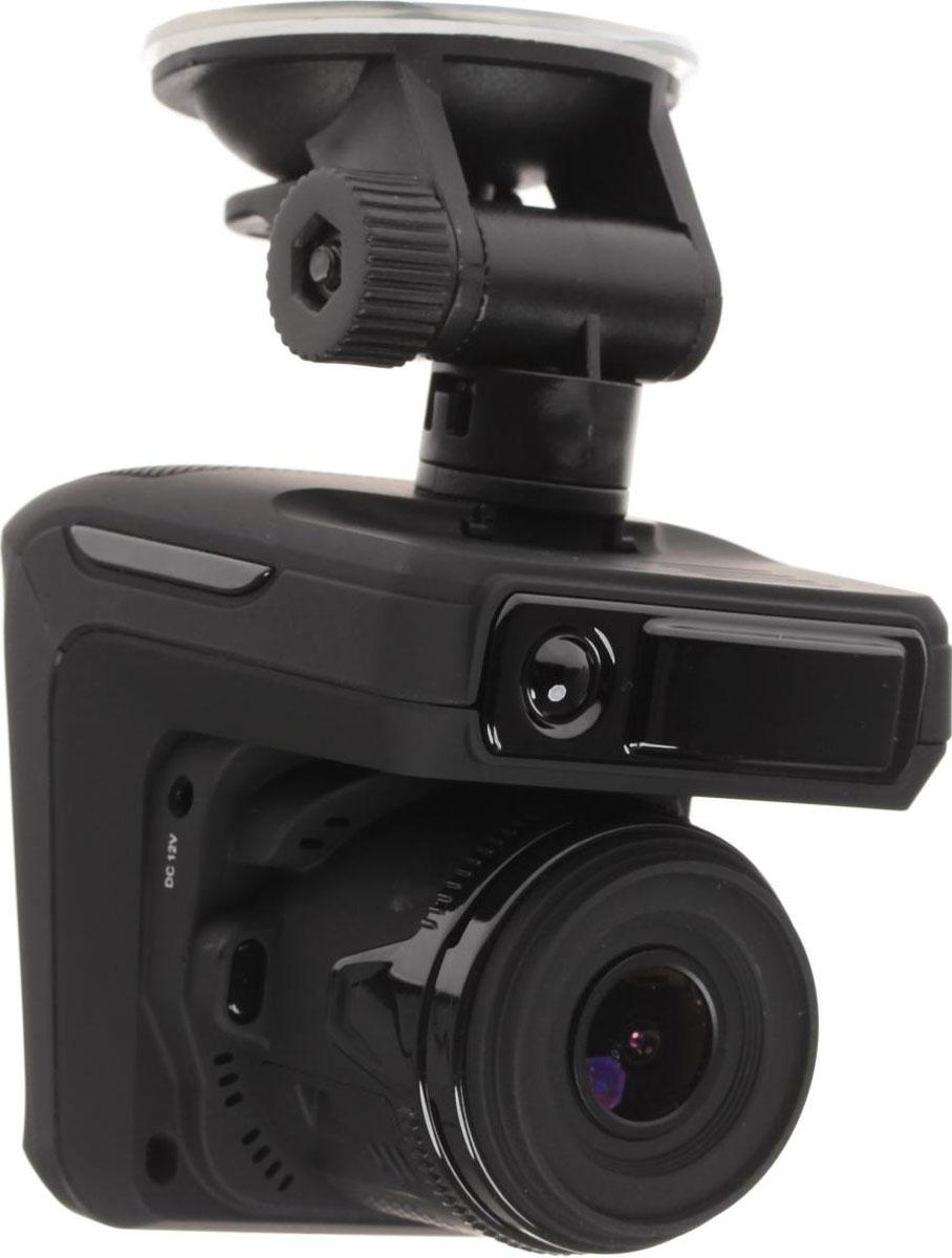 Sho-Me Combo №3 A7, Black видеорегистратор с радар-детекторомCOMBO №3-А7Видеорегистратор с антирадаром Combo №3 A7 - это уникальная комбинация самых важных для автомобилиста функций – запись происходящего на видео в высоком качестве (Full HD) и оповещение о сигналах полицейских радаров, принятых антенной и/или определяемых с помощью GPS. Благодаря своим компактным размерам, комбо-видеорегистратор Combo №3 A7 будет гармонично смотреться в салоне любого автомобиля, при этом не препятствуя обзору водителя. Камера видеорегистратора с широким углом обзора 140° захватывает соседние и встречные полосы движения, номера движущихся вокруг Вас автомобилей, а также сигналы светофора. Такой круг обзора позволит разрешить сложные спорные ситуации и предоставит видео отличного качества с места событий. Яркий дисплей диагональю 2,4 с высоким разрешением позволит вам с комфортом просматривать отснятые видеоролике на самом видеорегистраторе, разглядеть все детали или c удобством управлять настройкой видеорегистратора. ...