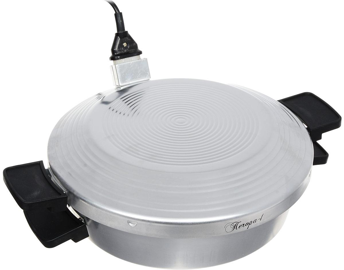 Великие реки Печора-1 печь-сковородаПечора-1Печь-сковорода Великие реки Печора-1 с керамическим покрытием станет для вас удобным и надежным помощником на кухне, даче или во время туристического похода. Вы сможете приготовить любимые блюда везде, где нет газа, но есть электрическая сеть. Несмотря на существенные различия в источниках используемой для готовки энергии вам удастся приготовить абсолютно те же блюда, что и на газовой плите. Ей под силу жарка, тушение, запекание. Удобная форма с жаропрочной ручкой, безопасная конструкция, несомненно, придется по душе настоящей хозяйке.