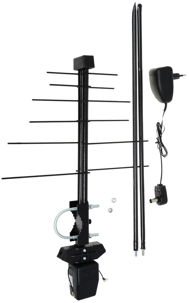D-Color DCA-719A антенна для цифрового ТВ (активная)4603725280670D-Color DCA-719A - наружная антенна с усилителем для приёма каналов цифрового эфирного телевидения DVB-T2 и сигналов ДМВ-диапазона. Предназначена для работы в условиях уверенного и неуверенного приёма. Антенна оснащена надежным мачтовым креплением, а металлические части этой антенны защищены от коррозии, что позволяет эксплуатировать ее в условиях переменчивого климата.