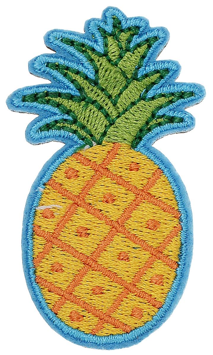 Брошь Kawaii Factory Ананас, цвет: желтый, голубой. KW088-000055KW088-000055Оригинальная брошь Kawaii Factory Ананас изготовлена из текстиля. Модель выполнена в виде ананаса и застегивается на удобный замок-булавку.
