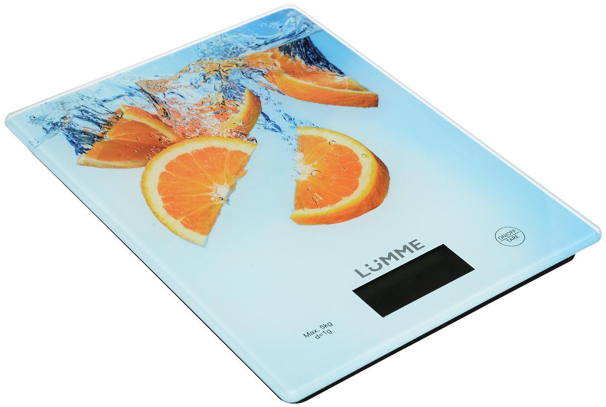Lumme LU-1340 Апельсиновый фреш весы кухонныеLU-1340Яркие кухонные весы Lumme LU-1340 с красивой и прочной поверхностью из закаленного стекла, большим жидкокристаллическим дисплеем и функцией ТАРА. Весы обеспечивают надежное взвешивание продуктов массой до 5 килограммов с точностью до 1 грамма и способны работать в различных единицах измерения (граммы, килограммы, унции, фунты, миллилитры). Функция ТАРА позволяет не учитывать массу посуды при взвешивании продуктов, а индикаторы перегрузки и замены батареи сделают работу весов бесперебойной в течение длительного времени. Для экономии заряда литиевой батарейки (входящей в комплект поставки) весы отключаются автоматически, если не используются. Кухонные весы – отличный помощник для тех, кто любит готовить точно по рецептам.