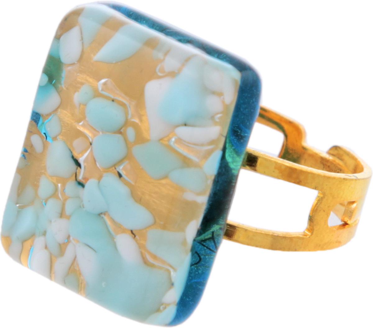 Кольцо коктейльное Шарм. Муранское стекло, бижутерный сплав золотого тона, ручная работа. Murano, Италия (Венеция)e064f090Кольцо коктейльное Шарм. Муранское стекло, бижутерный сплав золотого тона, ручная работа. Murano, Италия (Венеция). Размер регулируется. Каждое изделие из муранского стекла уникально и может незначительно отличаться от того, что вы видите на фотографии.