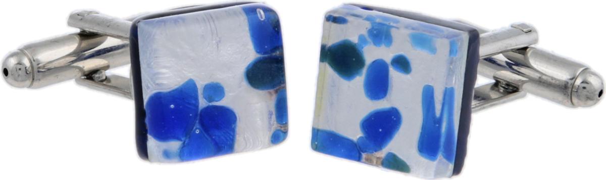 Запонки Серебряный дождь. Муранское стекло, бижутерный сплав серебряного тона, ручная работа. Murano, Италия (Венеция)ОС28025Запонки Серебряный дождь. Муранское стекло, бижутерный сплав серебряного тона, ручная работа. Murano, Италия (Венеция). Размер: 1 х 1 см. Каждое изделие из муранского стекла уникально и может незначительно отличаться от того, что вы видите на фотографии.