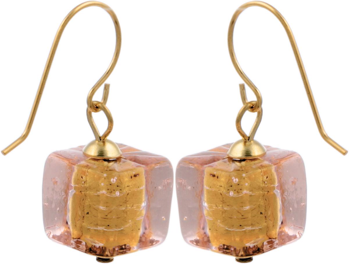 Серьги Романтика. Муранское стекло, бижутерный сплав золотого тона, ручная работа. Murano, Италия (Венеция)20091620Серьги Романтика. Муранское стекло, бижутерный сплав золотого тона, ручная работа. Murano, Италия (Венеция). Размер: 3 х 1,5 см. Каждое изделие из муранского стекла уникально и может незначительно отличаться от того, что вы видите на фотографии.