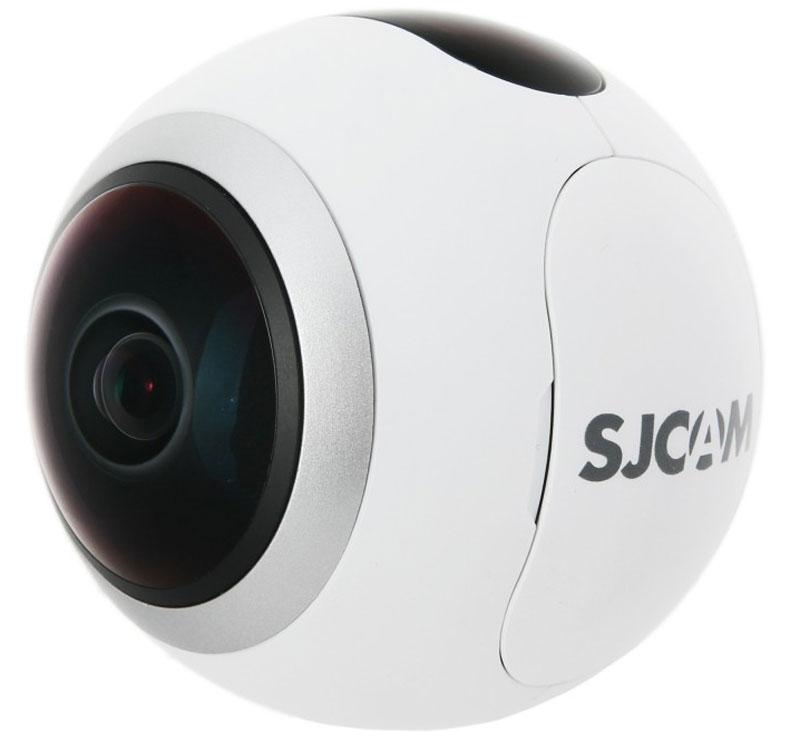 SJCAM SJ360, White экшн-камераSJ360 WhiteХотите посмотреть на мир вокруг на 360 градусов, но не знаете как это сделать? В этом вам поможет компактная видеокамера SJCAM SJ360. Основная особенность данной модели вытекает из названия: камера снимает на 360 градусов, что позволяет видеть в отличном качестве все, что происходит вокруг вас. Достигнуть этого позволяет чипсет Novatek 96660, благодаря которому камера снимает в высоком разрешении без ущерба для качества изображения. Датчик 2K Sony CMOS дает возможность использовать разрешение изображения 4032x3024. Разрешение видео составляет 2048x2048 (2K). Линза с 220° SuperViow с углом обзора рыбий глаз позволяет снимать на 360° по горизонтали и на 220° по вертикали. Она также имеет 6 слоев, что позволяет камере успешно устранять блики. Вы совершенно точно найдете для себя подходящий режим сьемки, который позволит сделать ваши фото и видео необычными и интересными. Среди режимов есть: панорама, сфера, полусфера, рыбий глаз, цилиндр и др. Благодаря...