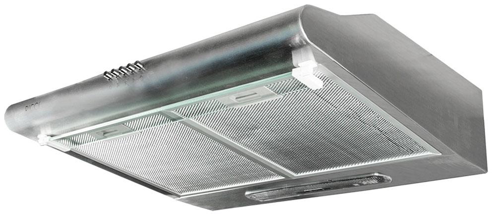 Ricci RRH-2150-S вытяжкаRICCI RRH-2150-SВытяжка Ricci RRH-2150-S поможет вам эффективно решить проблему очистки воздуха. Она осуществляет работу в режимах отвода или рециркуляции воздуха. Вытяжка сочетает в себе качество, функциональность и элегантный дизайн, что делает ее отличным дополнением для вашей кухни. Трехслойный алюминиевый фильтр предназначен для защиты двигателя, вентиляторов и отводящих труб от скопления мельчайших частичек жира, попадающих в в воздух во время приготовления пищи. 3 скорости работы Мощность лампы: 40 Вт Воздуховод: 120 мм