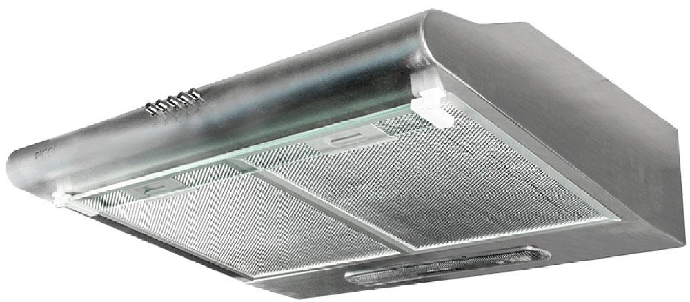 Ricci RRH-2260-S вытяжкаRICCI RRH-2260-SКухонная вытяжка Ricci RRH-2260-S - это идеальное решение для просторной кухни. Если вы любите устраивать кулинарные поединки на своей кухне, то эта 60 сантиметровая вытяжка создана для вас. Она способна справиться с любыми запахами, исходящими от приготовления пищи. Алюминиевый угольный фильтр: Угольный фильтр, или фильтр грубой очистки, предназначен для защиты двигателя, вентиляторов и отводящих труб от скопления мельчайших частичек жира, попадающих в в воздух во время приготовления пищи. Фильтр легко снимается для очистки или замены.