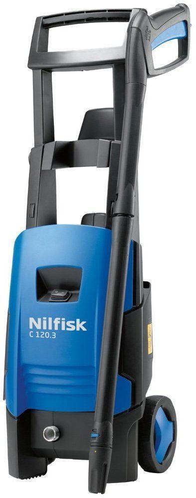Бытовая моечная машина Nilfisk C 120.3-6128470010Бытовая мойки высокого давления для внешней уборки. C 120.3-6 мойка высокого давления идеально подходит для всех типов уборки при нерегулярном использовании аппарата. На корпусе мойки много специальных ячеек для удобного хранения всех стандартных аксессуаров. C 120.3-6 показывает невероятную мобильность и гибкость. Она отлично подходит для тех, кто нуждается в бытовой мойке высокого давления с эргономичным дизайном и высокой производительностью. Благодаря системе Click & Clean (C&C) вы сможете быстро и легко менять насадки, стандартное байонетное соединение Nilfisk обеспечивает совместимость с широким спектром аксессуаров.