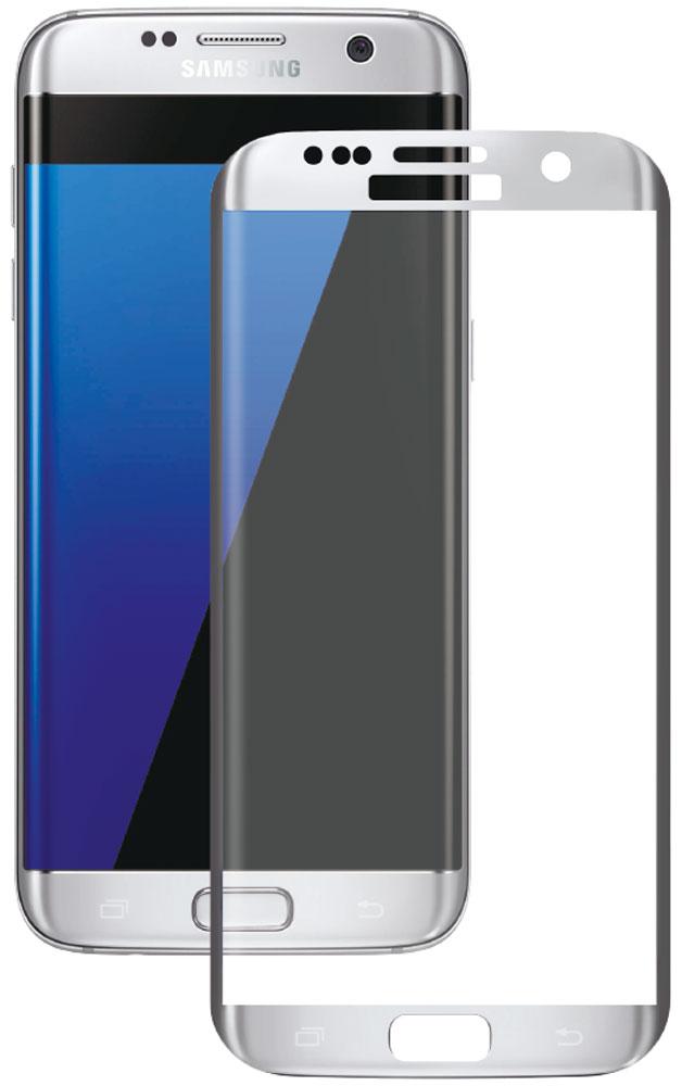 Deppa защитное стекло для Samsung Galaxy S7 Edge, Silver (3D)62005Защитное 3D-стекло Deppa полностью повторяет форму дисплея Samsung Galaxy S7 Edge, обеспечивая его 100% покрытие. Скругленный край защищает боковые грани устройства, приятен на ощупь, создает ощущение целостности экрана. Стекло обладает всеми необходимыми свойствами для максимальной защиты экрана вашего устройства. Цвета 3D-стекла представлены в лаконичном стиле Samsung.