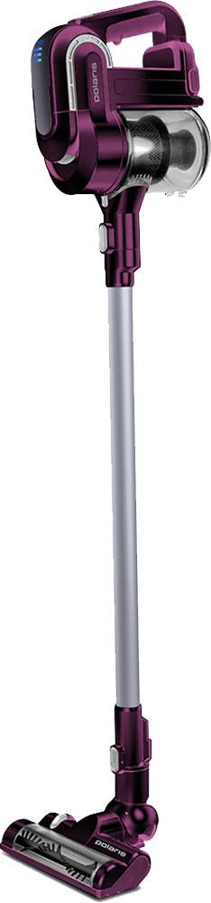 Polaris PVCS 0722HB портативный пылесос7579Сбалансированная инновационная конструкция пылесоса Polaris PVCS 0722HB, два мощных двигателя и Li-ion аккумулятор повышенной емкости делают доступной, легкой и быстрой уборку во всём помещении, включая пространство под мебелью и между ней, труднодоступные места, а также потолки. Беспроводной пылесос для уборки помещения одним движением трансформируется в компактный гаджет для локальной уборки салона автомобиля, крошек со стола или мягкой мебели. Достаточно отсоединить всасывающую трубку, а на её место поставить специальную насадку. Облегченная сбалансированная конструкция пылесоса (2 кг) делает уборку максимально комфортной. Поворотная на 180° электрощётка позволяет беспрепятственно добраться в узкие пространства, встроенный в щетку фонарик делает заметными даже мельчайшие загрязнения в затемнённых местах. В комплекте идут специальные насадки для уборки: мультифункциональная 3 в 1 для труднодоступных мест; щётка для одежды;...