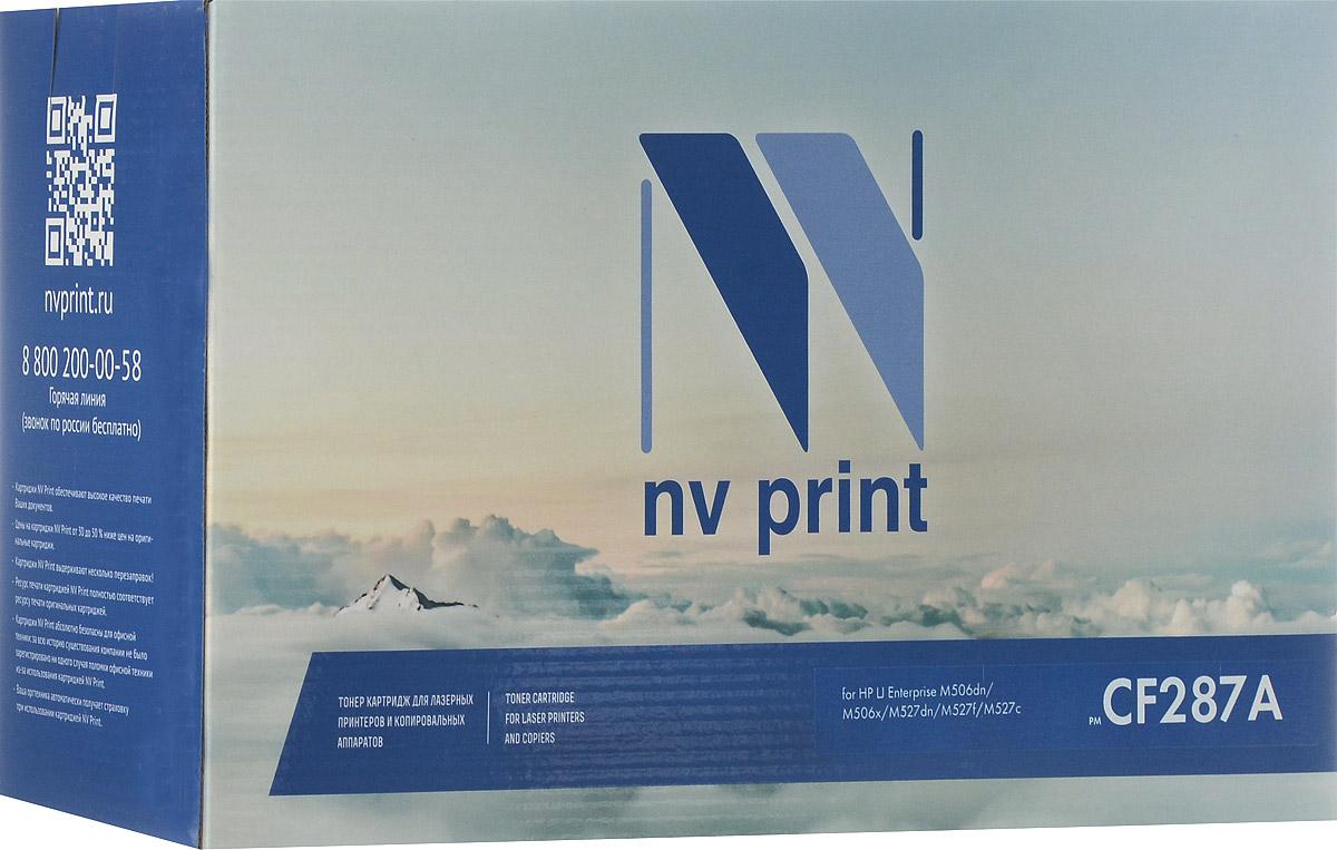 NV Print CF287A, Black тонер-картридж для HP LaserJet Pro M501n/Enterprise-M506dn/M506x/M527dn/M527f/M527cNV-CF287AСовместимый лазерный картридж NV Print NV-CF287A для печатающих устройств HP LaserJet Pro и Enterprise - это альтернатива приобретению оригинальных расходных материалов. При этом качество печати остается высоким. Тонер картриджи NV Print, спроектированные и разработанные с применением передовых технологий, наилучшим образом приспособлены для эффективной работы печатного устройства. Все компоненты оптимизируют процесс печати и идеально сочетаются в течение всего времени работы, что дает вам неизменно качественные результаты при использовании вашего лазерного принтера. Лазерные принтеры, копировальные аппараты и МФУ являются более выгодными в печати, чем струйные устройства, так как лазерных картриджей хватает на значительно большее количество отпечатков, чем обычных. Для печати в данном случае используются не чернила, а тонер.
