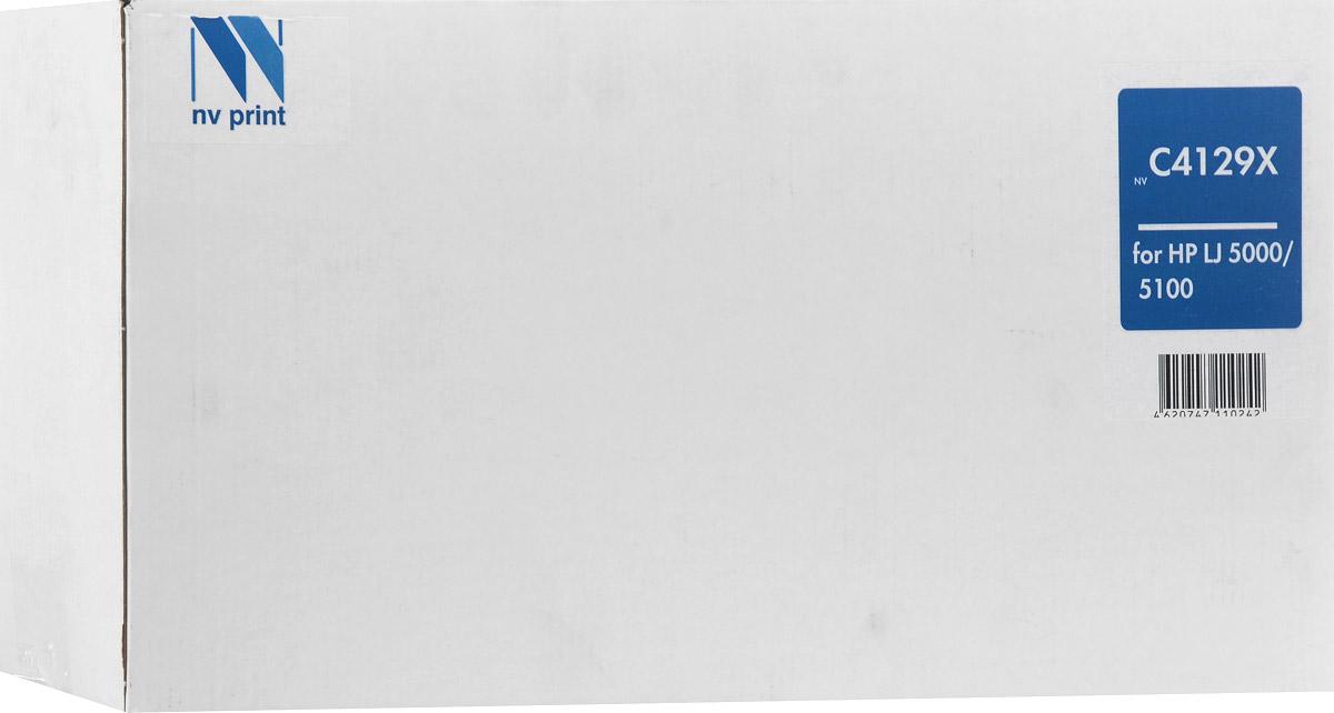 NV Print C4129X, Black тонер-картридж для HP LaserJet 5000/5100/5100dtn/5100tnNV-C4129XСовместимый лазерный картридж NV Print NV-C4129X для печатающих устройств HP LaserJet 5000/5100/5100dtn/5100tn - это альтернатива приобретению оригинальных расходных материалов. При этом качество печати остается высоким. Тонер картриджи NV Print, спроектированные и разработанные с применением передовых технологий, наилучшим образом приспособлены для эффективной работы печатного устройства. Все компоненты оптимизируют процесс печати и идеально сочетаются в течение всего времени работы, что дает вам неизменно качественные результаты при использовании вашего лазерного принтера. Лазерные принтеры, копировальные аппараты и МФУ являются более выгодными в печати, чем струйные устройства, так как лазерных картриджей хватает на значительно большее количество отпечатков, чем обычных. Для печати в данном случае используются не чернила, а тонер.