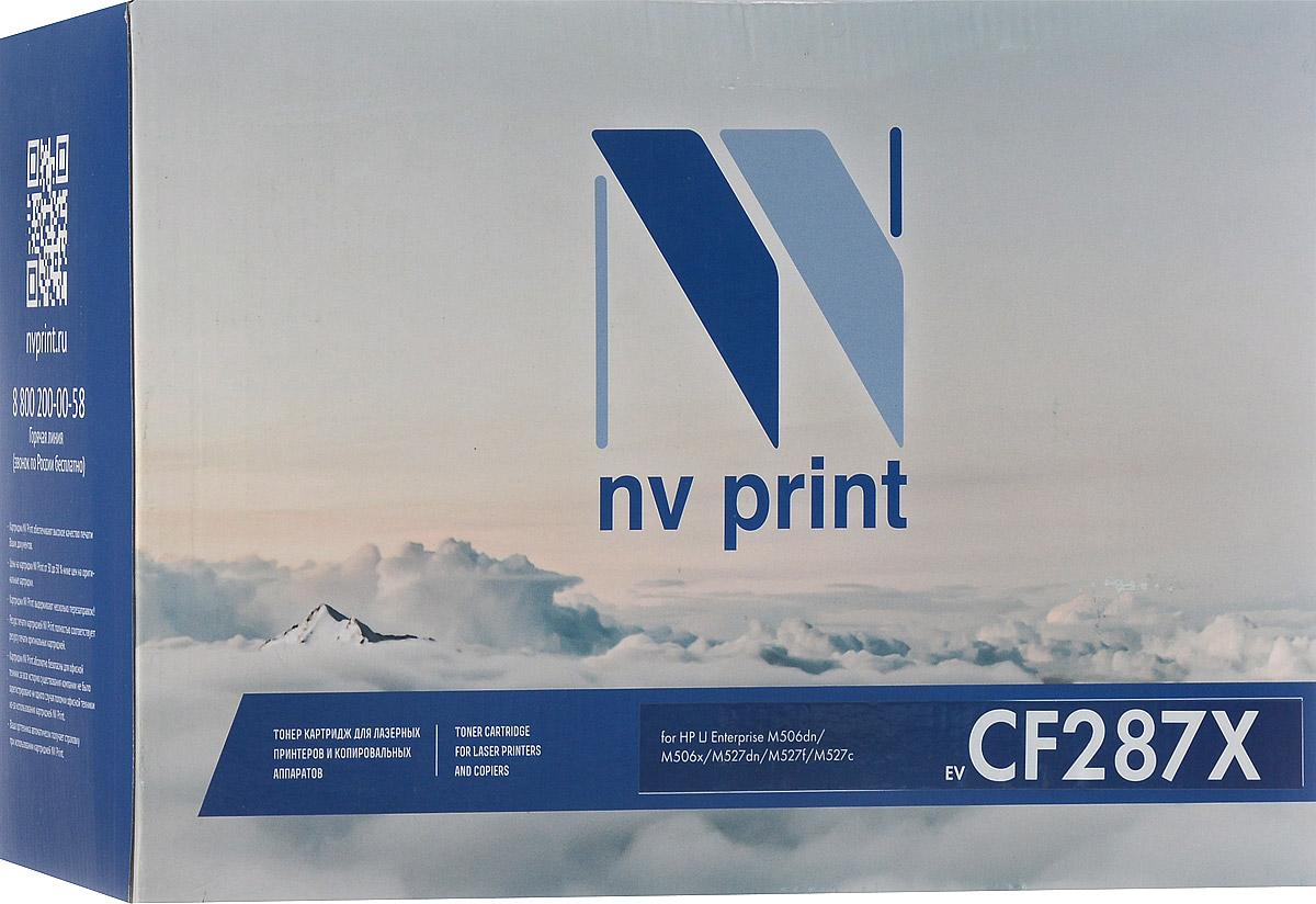 NV Print CF287X, Black тонер-картридж для HP Enterprise M506dn/M506x/M527dn/M527f/M527cNV-CF287XСовместимый лазерный картридж NV Print NV-CF287X для печатающих устройств HP LaserJet Pro и Enterprise - это альтернатива приобретению оригинальных расходных материалов. При этом качество печати остается высоким. Тонер картриджи NV Print, спроектированные и разработанные с применением передовых технологий, наилучшим образом приспособлены для эффективной работы печатного устройства. Все компоненты оптимизируют процесс печати и идеально сочетаются в течение всего времени работы, что дает вам неизменно качественные результаты при использовании вашего лазерного принтера. Лазерные принтеры, копировальные аппараты и МФУ являются более выгодными в печати, чем струйные устройства, так как лазерных картриджей хватает на значительно большее количество отпечатков, чем обычных. Для печати в данном случае используются не чернила, а тонер.
