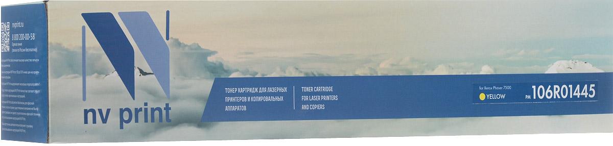 NV Print 106R01445Y, Yellow тонер-картридж для Xerox Phaser 7500NV-106R01445YСовместимый лазерный картридж NV Print 106R01445Y для печатающих устройств Xerox Phaser 7500 - это альтернатива приобретению оригинальных расходных материалов. При этом качество печати остается высоким. Тонер картриджи NV Print, спроектированные и разработанные с применением передовых технологий, наилучшим образом приспособлены для эффективной работы печатного устройства. Все компоненты оптимизируют процесс печати и идеально сочетаются в течение всего времени работы, что дает вам неизменно качественные результаты при использовании вашего лазерного принтера. Лазерные принтеры, копировальные аппараты и МФУ являются более выгодными в печати, чем струйные устройства, так как лазерных картриджей хватает на значительно большее количество отпечатков, чем обычных. Для печати в данном случае используются не чернила, а тонер.