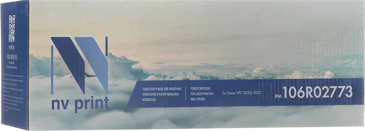 NV Print 106R02773, Black тонер-картридж для Xerox Phaser WC 3020/3025NV-106R02773Совместимый лазерный картридж NV Print 106R02773 для печатающих устройств Xerox Phaser WC 3020/3025 - это альтернатива приобретению оригинальных расходных материалов. При этом качество печати остается высоким. Тонер-картридж NV Print 106R02773 спроектирован и разработан с применением передовых технологий, наилучшим образом приспособлен для эффективной работы печатного устройства. Все компоненты оптимизируют процесс печати и идеально сочетаются в течение всего времени работы, что дает вам неизменно качественные результаты при использовании вашего лазерного принтера.