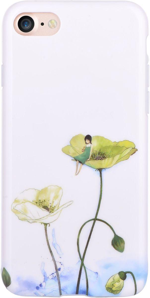 Devia Vivid Case Lotus чехол для iPhone 7 Plus6952897994495Чехол Devia Vivid Case для Apple iPhone 7 Plus надежно защищает ваш смартфон от внешних воздействий, грязи, пыли, брызг. Он также поможет при ударах и падениях, не позволив образоваться на корпусе царапинам и потертостям. Чехол обеспечивает свободный доступ ко всем функциональным кнопкам смартфона и камере. Чехол Devia Vivid Case - это стильная и элегантная деталь вашего образа, которая всегда обращает на себя внимание среди множества вещей.