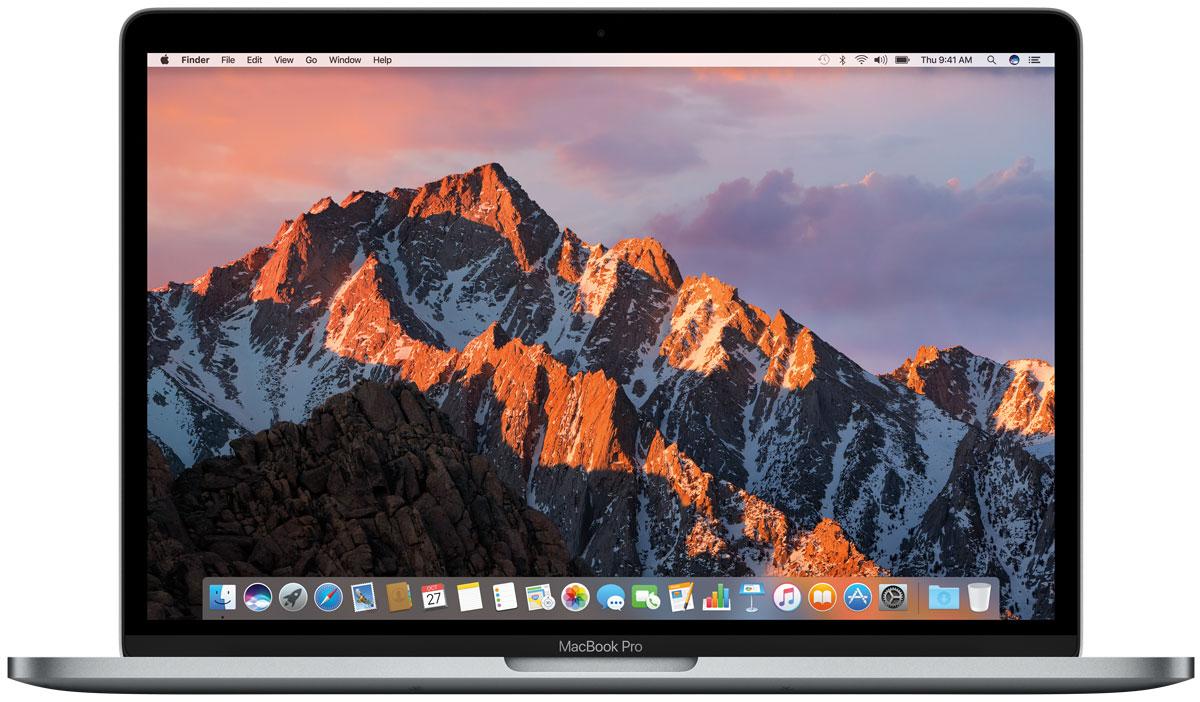 Apple MacBook Pro 13, Space Grey (MLH12RU/A)MLH12RU/AApple MacBook Pro стал ещё быстрее и мощнее. У него самый яркий экран и лучшая цветопередача среди всех ноутбуков Mac. Новый MacBook Pro задаёт совершенно новые стандарты мощности и портативности ноутбуков. Вы сможете воплотить любую идею, ведь в вашем распоряжении самые передовые графические процессоры и накопители, невероятная вычислительная мощность и многое, многое другое. MacBook Pro оснащён SSD-накопителем со скоростью последовательного чтения до 3,1 ГБ/с, что значительно превосходит характеристики предыдущего поколения. И память встроенных накопителей работает быстрее. Всё это позволяет мгновенно запускать систему, управлять множеством приложений и работать с большими файлами. Благодаря процессорам Intel Core 6-го поколения, MacBook Pro демонстрирует невероятную производительность даже при выполнении самых ресурсоёмких задач, таких как рендеринг 3D-моделей или конвертация видео. А когда вы выполняете простые задачи, например,...