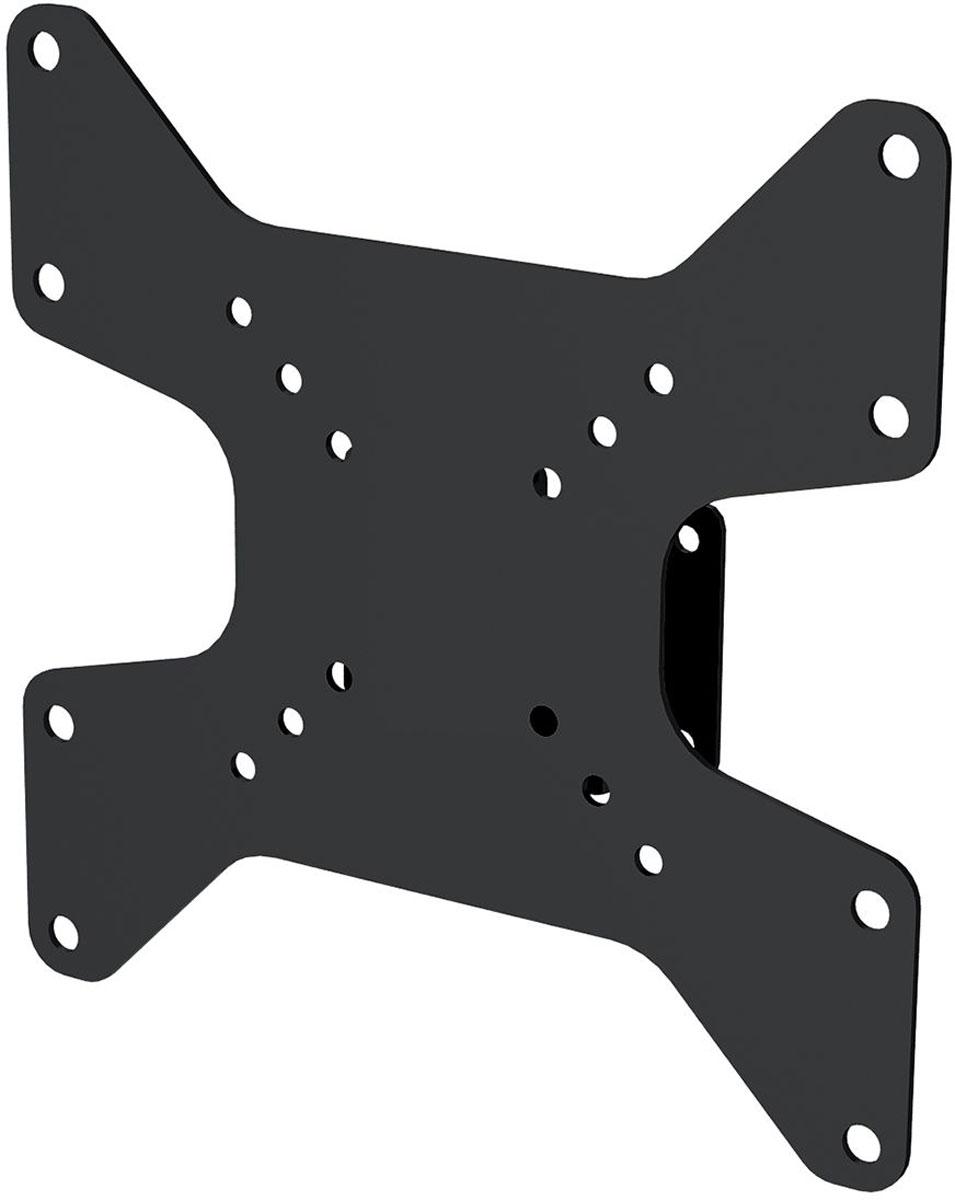 Mart 301S, Black кронштейн для ТВ1255965Mart 301S - надежный кронштейн для вашего телевизора. Максимальная нагрузка составляет 25 кг. Данный кронштейн поможет организовать пространство в гостиной или любой другой комнате. Ведь гораздо удобнее, когда телевизор установлен не на столе или тумбе, а на стене.