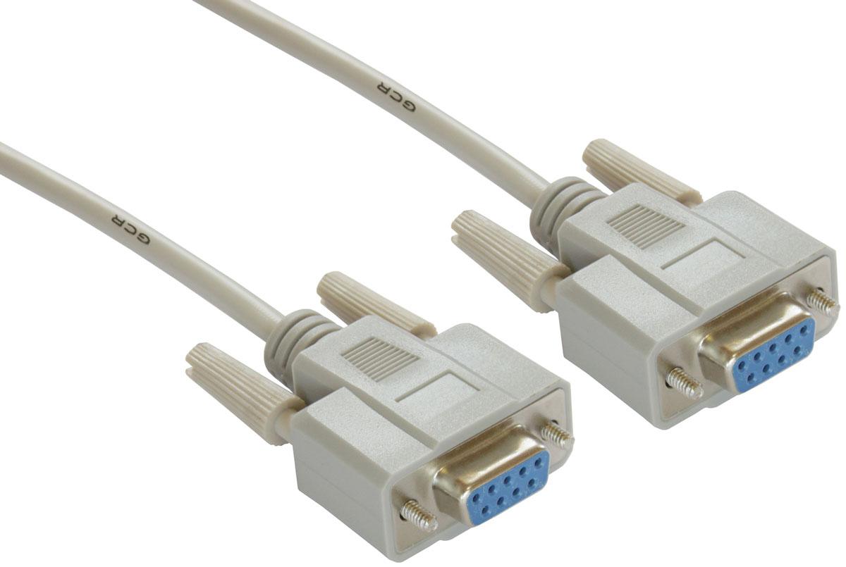 Greenconnect GCR-DB9CF2F кабель COM RS-232 (10 м)GCR-DB9CF2F-10mКабель Greenconnect GCR-DB9CF2F предназначен для подключения профессионального оборудования с разъемом RS-232. С его помощью можно легко подключить компьютер, принтер, электронные весы, кассовое или диагностическое оборудование. Разъем RS-232 так же встречается на контроллерах, материнских платах, ресиверах, а также ноутбуках.