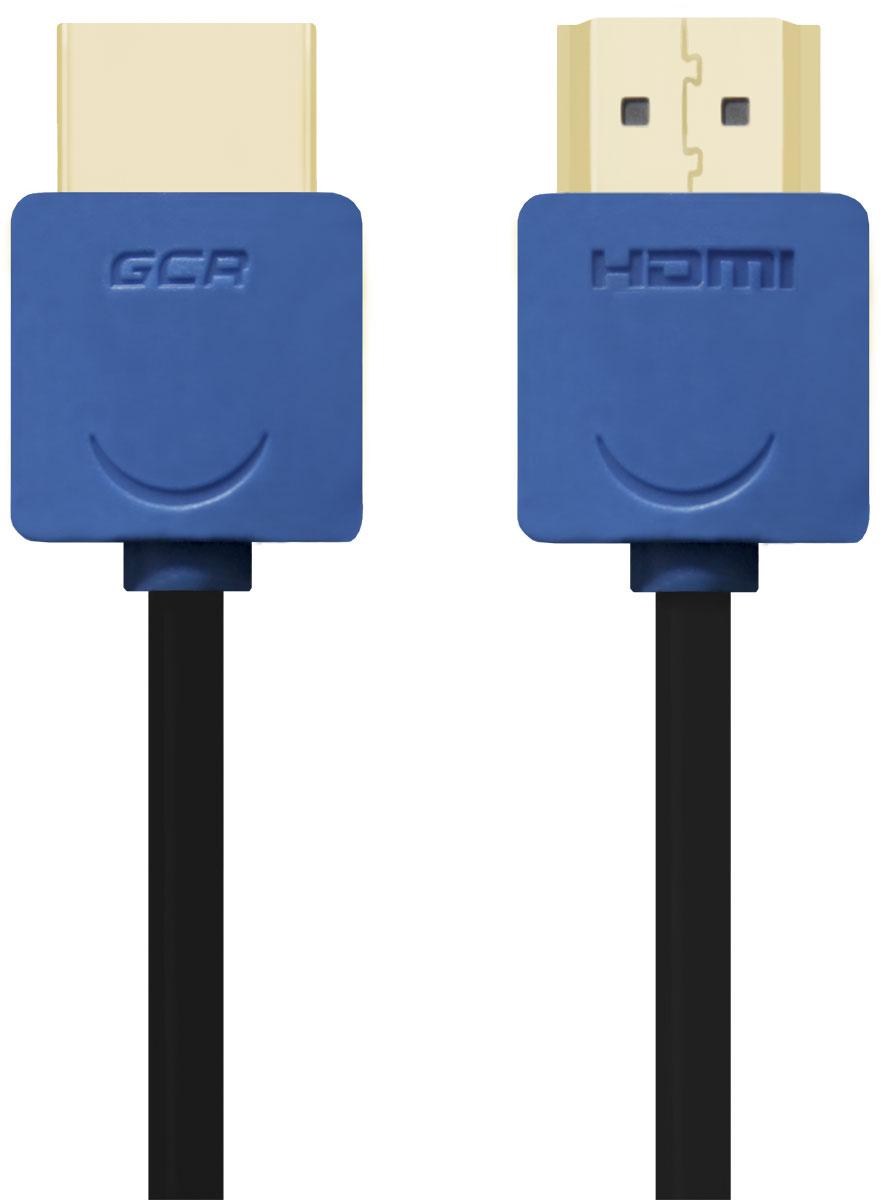 Greenconnect GCR-HM530 кабель HDMI (0,5 м)GCR-HM530-0.5mКабель HDMI v 1.4 Greenconnect GCR-HM530 - отличное решение для подключения компьютера, игровых консолей, DVD и Blu-ray плееров, аудио-ресиверов к телевизору или дополнительному монитору. Кабель HDMI поддерживает как стандартные, так и высокие разрешения самых современных моделей телевизоров. Greenconnect GCR-HM530 поддерживает 4K, Full HD и HD разрешения. Это даёт возможность наслаждаться более точной и естественной картинкой с высочайшим уровнем детализации и диапазоном цветов. Использование кабеля позволяет передавать изображение в столь популярном формате 3D, усиливая элемент присутствия и позволяя получать удовольствие от качественного объёмного изображения. Кабель оснащен двунаправленным каналом для передачи сетевых данных, который подходит для использования IP-приложениями. Канал Ethernet позволяет нескольким устройствам работать в сети Ethernet без необходимости подключения дополнительных проводов, а также напрямую обмениваться контентом. ...