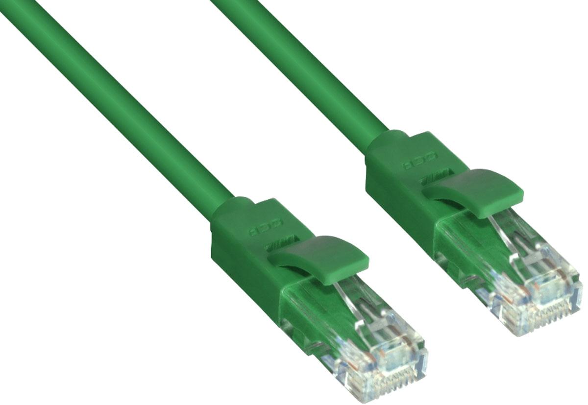 Greenconnect GCR-LNC05 патч-корд (5 м)GCR-LNC05-5.0mВысокотехнологичный современный литой патч-корд Greenconnect GCR-LNC05 используется для подключения к интернету на высокой скорости. Подходит для подключения персональных компьютеров или ноутбуков, медиаплееров или игровых консолей PS4 / Xbox One, а также другой техники и устройств, у которых есть стандартный разъем подключения кабеля для интернета LAN RJ-45. Соответствие сетевого патч-корда Greenconnect GCR-LNC05 современному стандарту UTP Cat5e обеспечивает возможность подключения к интернету со скоростью до 1 Гбит/с. С такой скоростью любимые фильмы будут загружаться меньше чем за полминуты, а музыка - мгновенно. Внешняя оболочка сетевого кабеля Greenconnect изготовлена из экологически чистого ПВХ, соответствующего европейскому стандарту безотходного производства RoHS.