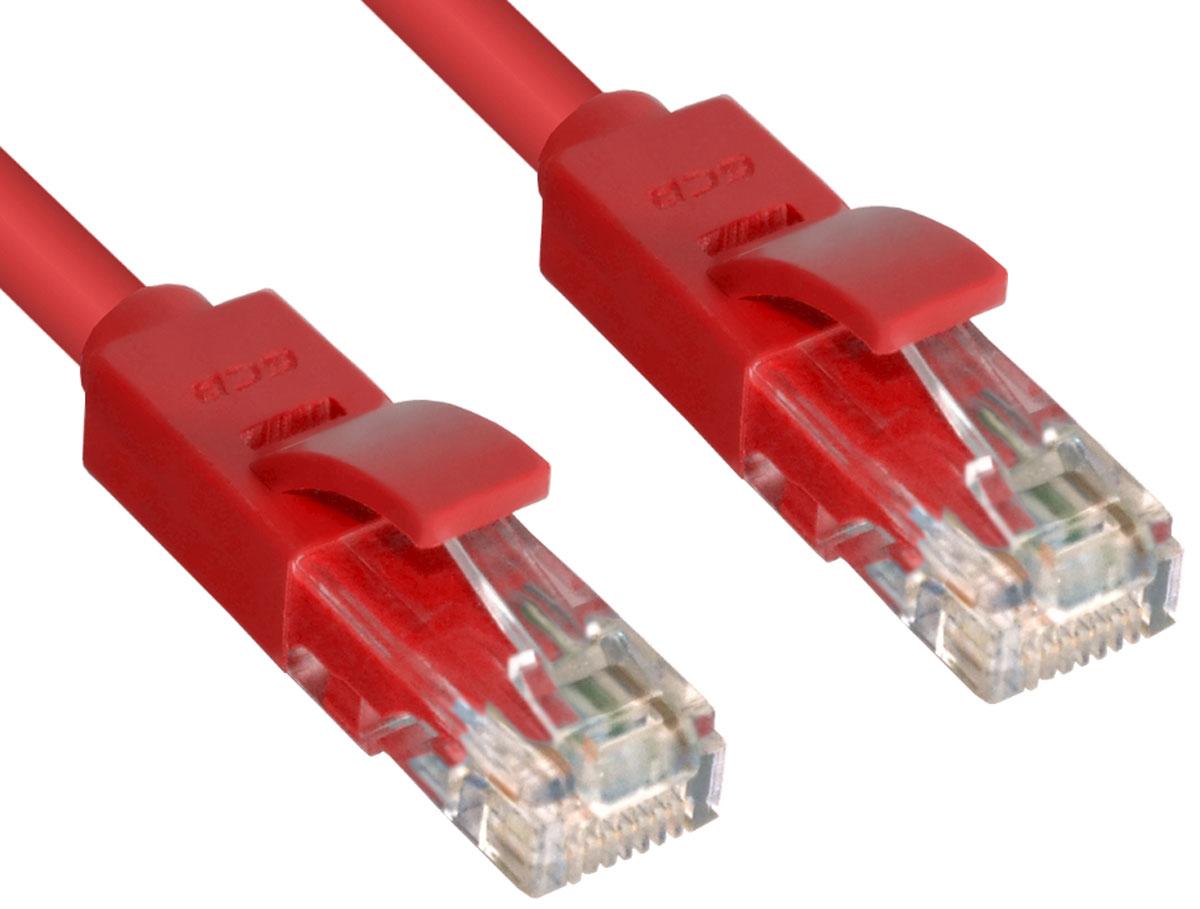 Greenconnect GCR-LNC604 патч-корд (30 м)GCR-LNC604-30.0mВысокотехнологичный современный литой патч-корд Greenconnect GCR-LNC604 используется для подключения к интернету на высокой скорости. Подходит для подключения персональных компьютеров или ноутбуков, медиаплееров или игровых консолей PS4 / Xbox One, а также другой техники и устройств, у которых есть стандартный разъем подключения кабеля для интернета LAN RJ-45. Соответствие сетевого патч-корда Greenconnect GCR-LNC604 современному стандарту UTP Cat6 обеспечивает возможность подключения к интернету со скоростью до 10 Гбит/с. С такой скоростью любимые фильмы будут загружаться меньше чем за полминуты, а музыка - мгновенно. Внешняя оболочка сетевого кабеля Greenconnect изготовлена из экологически чистого ПВХ, соответствующего европейскому стандарту безотходного производства RoHS.