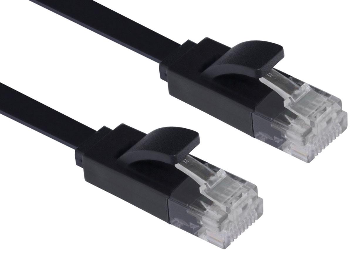Greenconnect GCR-LNC616 сетевой кабель (5 м)GCR-LNC616-5.0mКабель Greenconnect GCR-LNC616 является плоским, что делает его идеальным для скрытого монтажа, прокладки под ковром или плинтусом. Также, благодаря технологии UltraSlim от Greenconnect, кабель очень компактен, его легко и удобно использовать с ноутбуком и брать с собой. Внутренние провода коммутационного кабеля Greenconnect сделаны из качественной бескислородной меди высокой степени очистки, что обеспечивает высокую скорость соединения, стабильную передачу данных. Внешняя оболочка изготовлена из экологически чистого ПВХ, соответствующего европейскому стандарту безотходного производства RoHS.