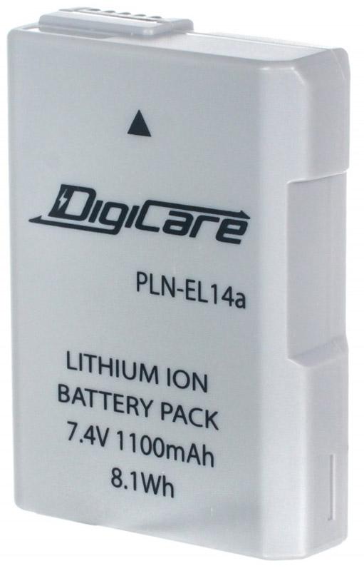 DigiCare PLN-EL14a аккумулятор для NikonPLN-EL14aDigiCare PLN-EL14a - надежная и легкая аккумуляторная батарея для вашей фотокамеры. Данная модель отличается быстрым процессом зарядки и продолжительным временем автономной работы. Аккумулятор не обладает эффектом памяти и легко восстанавливает работоспособность после глубокого разряда.