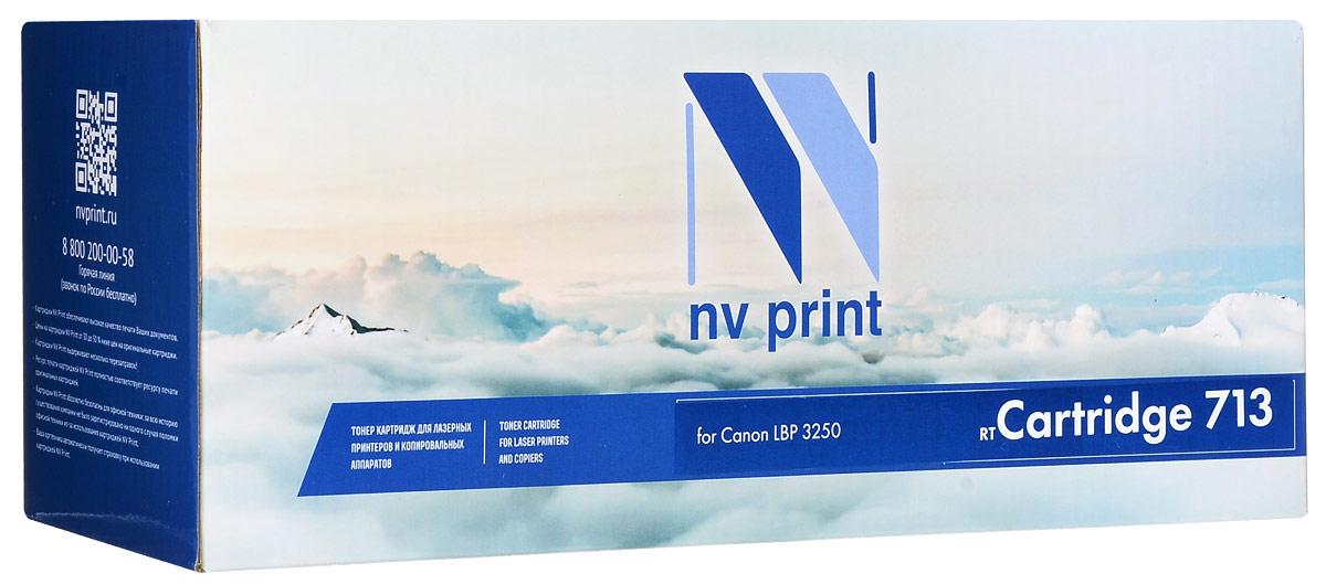 NV Print Cartridge 713, Black тонер-картридж для Canon i-Sensys LBP3250NV-713Совместимый лазерный картридж NV Print Cartridge 713 для печатающих устройств Canon - это альтернатива приобретению оригинальных расходных материалов. При этом качество печати остается высоким. Лазерные принтеры, копировальные аппараты и МФУ являются более выгодными в печати, чем струйные устройства, так как лазерных картриджей хватает на значительно большее количество отпечатков, чем обычных. Для печати в данном случае используются не чернила, а тонер.