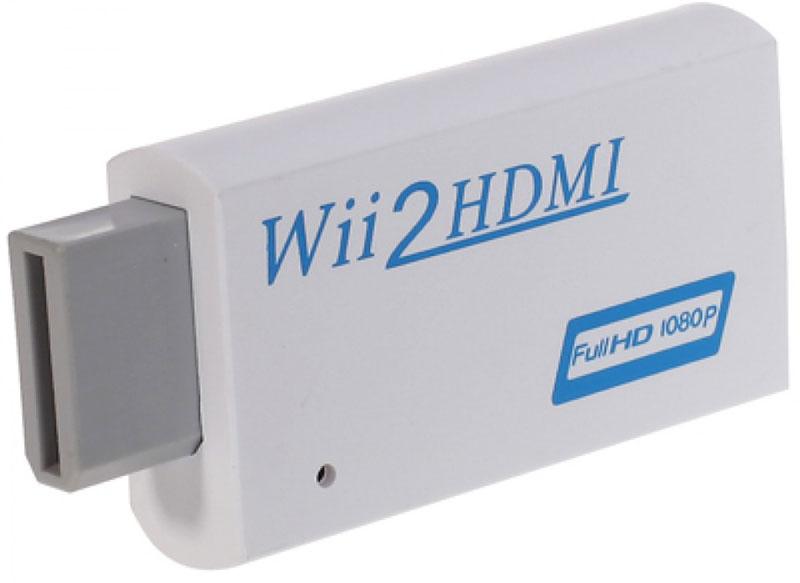 Greenconnect GL-138 переходник для Nintendo WiiGL-138Переходник Greenconnect GL-138 предназначен для подключения игровой консоли Nintendo Wii к телевизорам или мониторам с разъемом HDMI. Поддерживает передачу видео в разрешении 720p и 1080p и все режимы дисплея Wii (NTSC 480i 480p, PAL 576i). Оснащен аудиовыходом 3.5 мм.