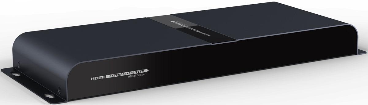 Greenconnect GL-314-HDbitT разветвительGL-314-HDbitTРазветвитель Greenconnect GL-314-HDbitT предназначен для подключения одного устройства воспроизведения HD-видео к четырем мониторам или телевизорам, оснащенным разъемом HDMI. При помощи разветвителя можно воспроизводить высококачественное изображение на демонстрационном стенде или в магазине техники, транслировать спортивные мероприятия или развлекательные шоу в баре или клубе, показывать обучающие и научные передачи в образовательных учреждениях, выводя изображение на несколько экранов одновременно. Greenconnect GL-314-HDbitT позволяет располагать приемники видеосигнала на расстоянии до 120 метров, при использовании медного кабеля cat6. Такая длина позволяет создать максимально удобную и эффективную инфраструктуру трансляции видео. Модель соответствует стандарту HDMI v1.3 и поддерживает разрешение видео до FullHD 1080p, а значит качество картинки на экране будет отличным, демонстрация возможностей телевизора или монитора - эффектной. Питание...