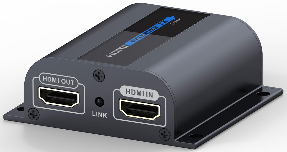 Greenconnect GL-372Pro удлинитель HDMIGL-372proУдлинитель HDMI по витой паре Greenconnect GL-372Pro предназначен для передачи цифрового видеосигнала высокого разрешения и многоканального звука между устройствами, оснащенными интерфейсом HDMI и расположенными на большом расстоянии друг от друга. Для передачи видео- и аудиосигнала используется сетевой кабель Ethernet Lan Cat6 (витая пара). Благодаря этому становится возможным осуществлять передачу на расстояние до 60 метров. При этом обязательно необходимо использовать сетевой кабель с медным проводником. Использование сетевых кабелей CCA не поддерживается устройством и не гарантирует корректную передачу видео и звука. Дополнительный выход HDMI на передающей стороне, для подключения основного дисплея. Это позволяет просматривать транслируемое видео и контролировать содержимое перед отображением его на удаленном экране. Соответствие стандарту HDMI v1.3 и поддержка передачи изображения с разрешением FullHD 1080p. Благодаря этому, картинка на экране...