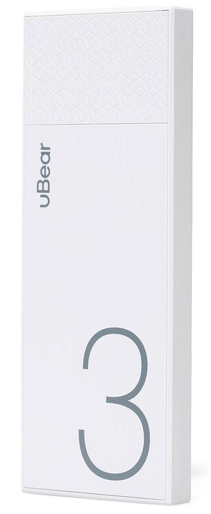 uBear Light 3000, White внешний аккумулятор