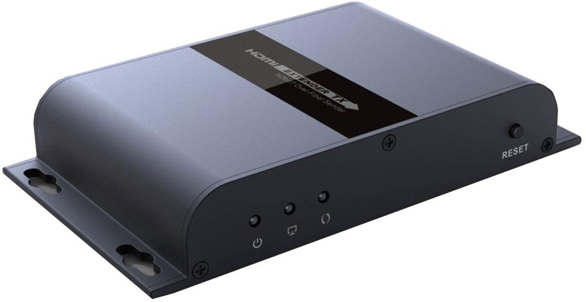 Greenconnect GL-378A удлинитель HDMIGL-378AУдлинитель HDMI Greenconnect GL-378A предназначен для передачи цифрового видеосигнала высокого разрешения и многоканального звука между устройствами, оснащенными интерфейсом HDMI и расположенными на большом расстоянии друг от друга. Для передачи видео- и аудио-сигнала используется оптоволоконный кабель. Это позволяет осуществлять передачу на расстояние до 20 километров, а благодаря поддержке технологии HDBitT отсутствуют визуальные потери качества картинки и звука. Технология HDBitT обеспечивает поддержку передачи изображения с разрешением до FullHD 1080p. Благодаря этому, картинка на экране будет превосходного качества. В корпусе имеются специальные отверстия для настенного монтажа. Это позволяет расположить удлинитель максимально удобно и там, где это необходимо.