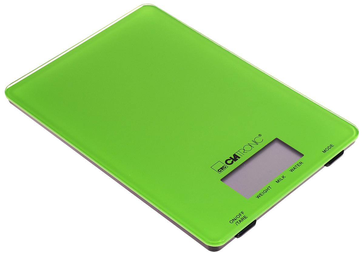 Clatronic KW 3626, Green кухонные весы