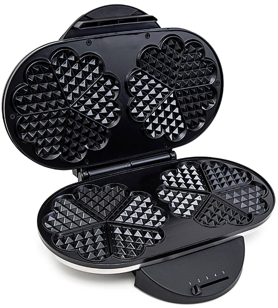 Kitfort КТ-1605 вафельницаКТ-1605Электрическая вафельница Kitfort КТ-1605 поможет испечь венские и бельгийские вафли. Она оснащена световыми индикаторами включения и готовности к работе, независимыми нагревателями в каждой половинке формы и отсеком для хранения шнура. С помощью регулируемого термостата настраивается температура выпечки. Противоскользящие ножки не дают прибору скользить по столу во время готовки. Корпус выполнен из нержавеющей стали, а формы для выпечки покрыты антипригарным покрытием и рассчитаны сразу на две порции вафель.