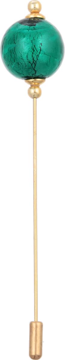 Murano! Булавка для шарфа. Муранское стекло, металл золотого тона, ручная работа. Murano, Италия, Венеция30027740Изящная булавка для шарфа. Муранское стекло, металл золотого тона, ручная работа. Murano, Венеция, Италия. Размер: 11 х 1,5 см. Каждое изделие из муранского стекла уникально и может незначительно отличаться от того, что вы видите на фотографии.