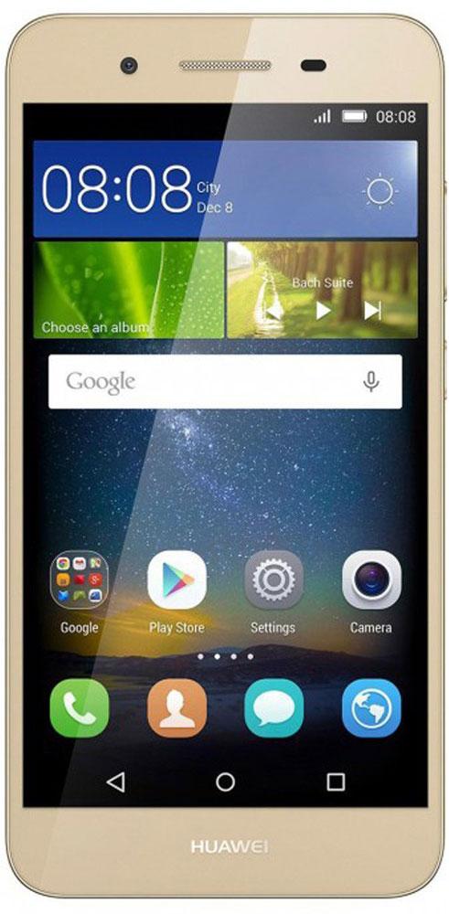 Huawei GR3 LTE (TAG-L21), Gold51090EGHHuawei GR3 - стильный и недорогой смартфон с широкими возможностями. Восьмиядерный процессор MediaTek MT6753T с частотой 1.5 ГГц позволяет использовать все современные мобильные приложения. Коммуникационные возможности представлены Bluetooth 4.0, Wi-Fi 802.11 b/g/n при помощи которых можно воспользоваться беспроводной гарнитурой или подключиться к интернету. Также Huawei GR3 не даст вам заблудится в городе и всегда укажет дорогу благодаря функции GPS. Модель оборудована стандартными разъемами - 3.5 мм для подключения наушников и microUSB - для зарядки и присоединения к USB-порту компьютера. Huawei GR3 также обладает функциональным мультимедиа-плеером, способным воспроизводить аудио и видео- файлы самых популярных форматов. Девайс обладает двумя слотами для SIM-карт, слотом для карт памяти microSD (до 128 ГБ). Смартфон оснащен двумя камерами: основной на 13 мегапикселей и фронтальной на 5 мегапикселей. Основная камера отлично...