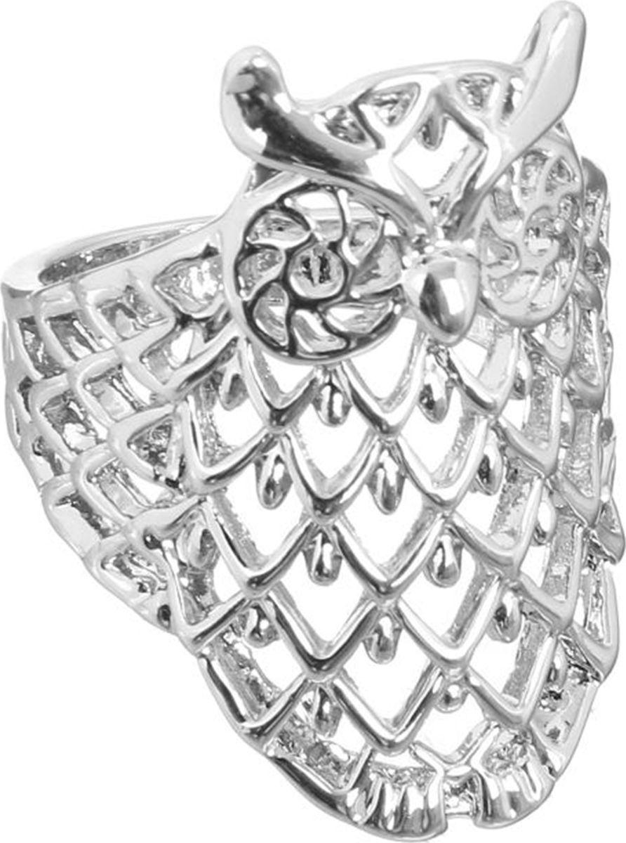 Кольцо Mitya Veselkov Сова, цвет: серебристый. 1733833. Размер 171733833Оригинальное кольцо Mitya Veselkov Сова изготовлено из гипоаллергенного бижутерного сплава. Кольцо выполнено в виде совы.