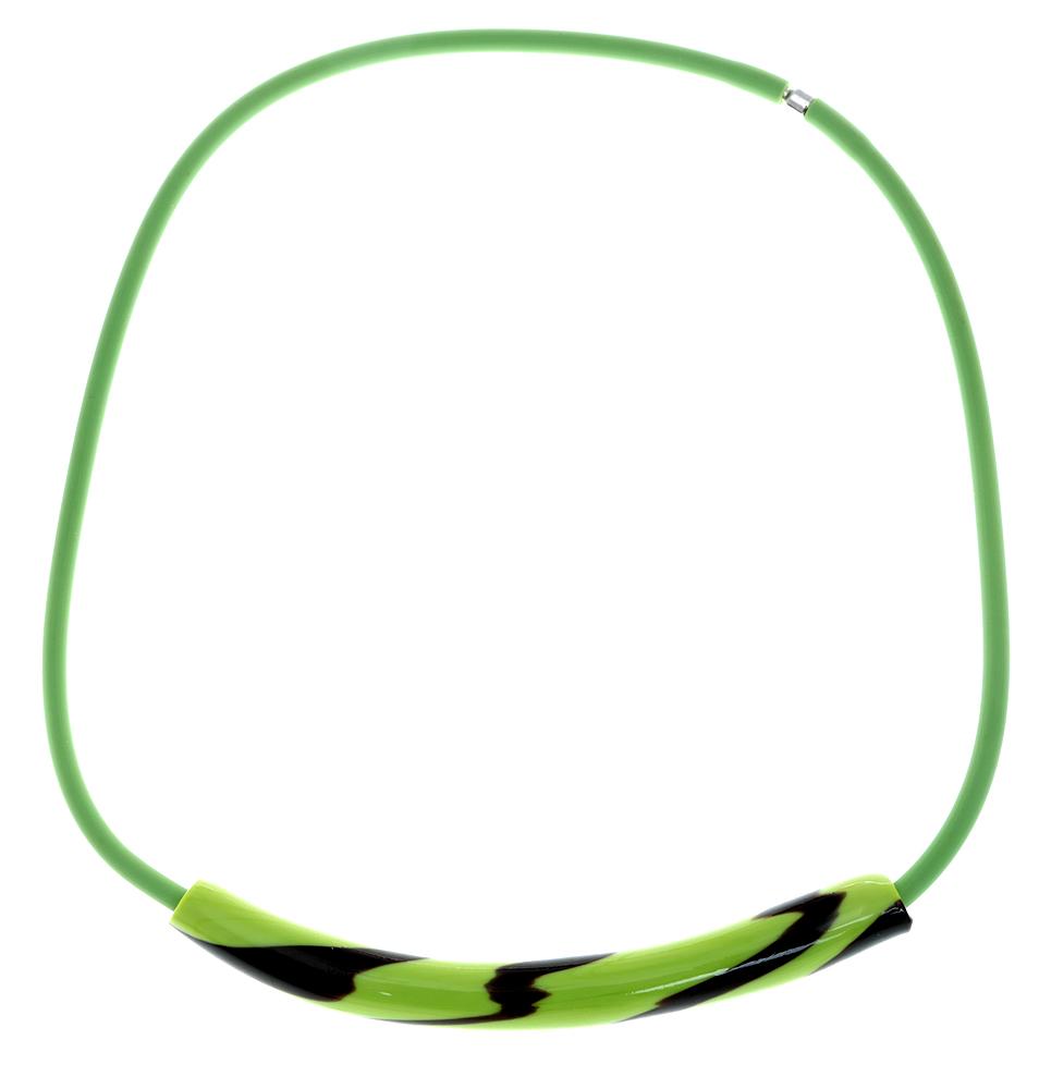 Колье Весна в Венеции. Муранское стекло, каучук зеленого цвета, ручная работа. Murano, Италия (Венеция)T-B-10321Колье Весна в Венеции. Муранское стекло, каучук зеленого цвета, ручная работа. Murano, Италия (Венеция). Размер: полная длина 46 см. Каждое изделие из муранского стекла уникально и может незначительно отличаться от того, что вы видите на фотографии.