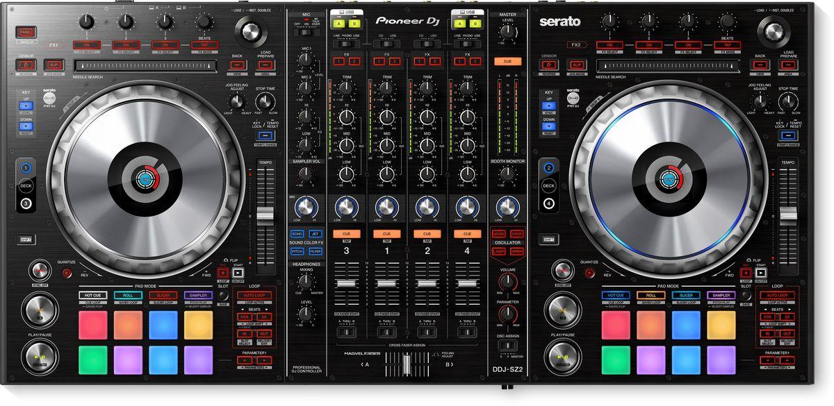 Pioneer DDJ-SZ2 DJ контроллер для профессиональных диджеев
