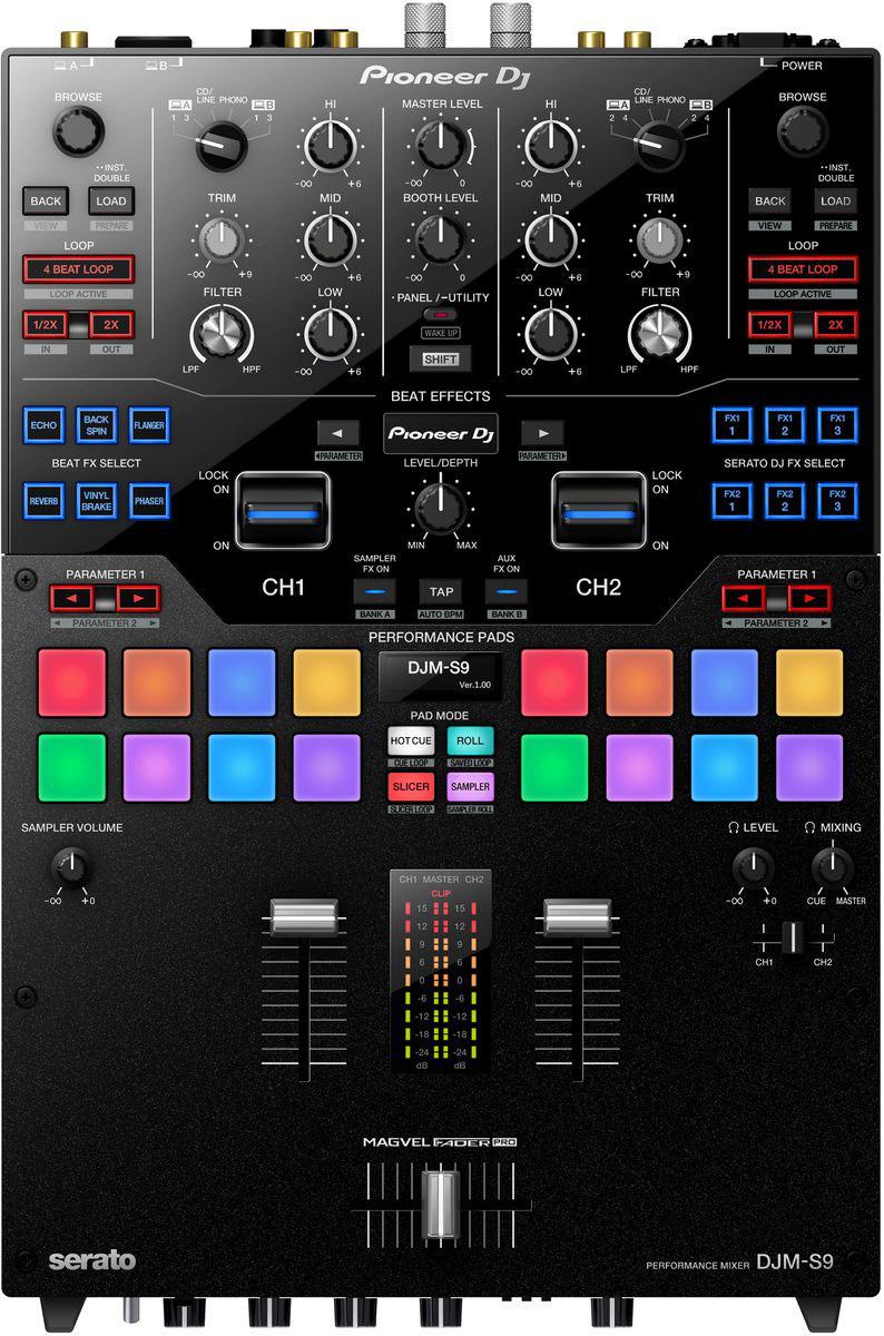 Pioneer DJM-S9 микшерный пульт для профессиональных диджеев