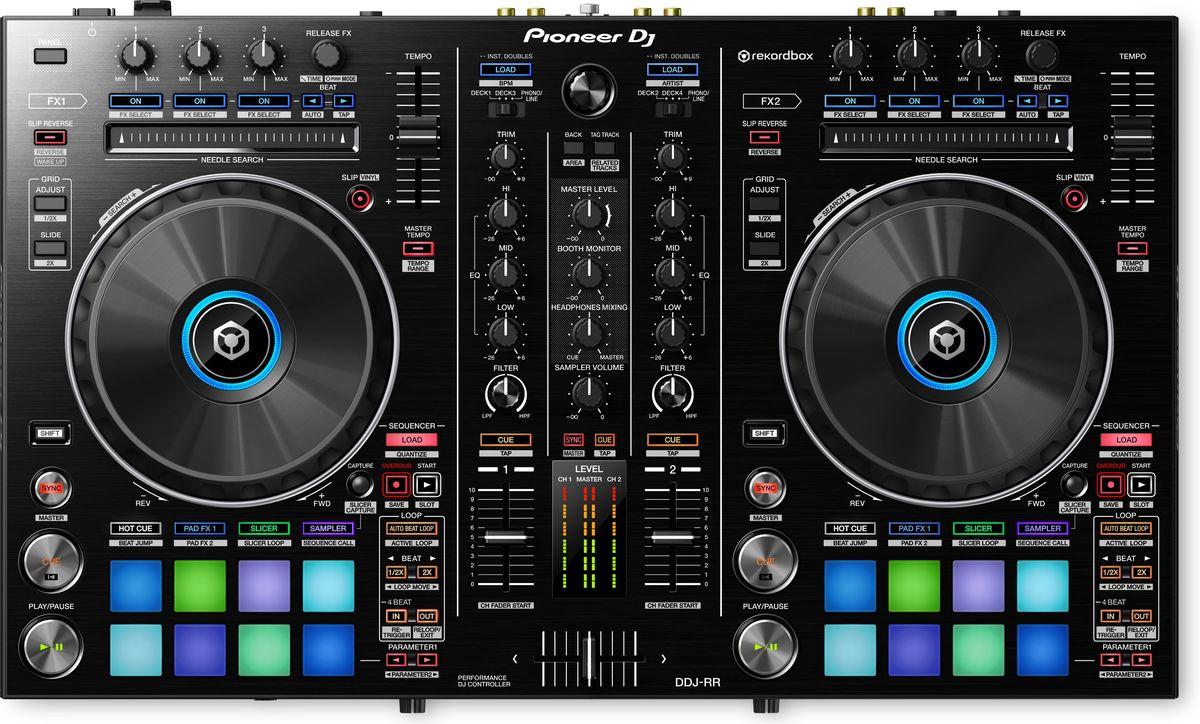 Pioneer DDJ-RR DJ контроллер среднего уровня381268