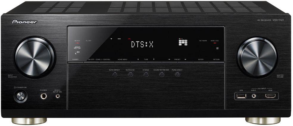 Pioneer VSX-1131-B AV-ресиверVSX-1131-B7 каналов 160Вт/ кн. HDMI 7 входов / 2 выхода. DolbyAtmos, DTS:X. ЦАП 32 бит. Bluetooth/Wi-Fi. Сетевые сервисы TIDAL, Deezer, TuneIn. AM/FM радио 40 станций. UltraHD с поддержкой HDCP 2.2. Фонокорректор ММ. Поддерживает форматы: ALAC, FLAC, DSD, WAV.