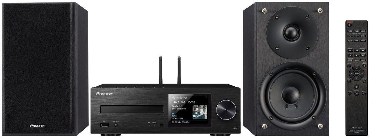 Pioneer X-HM76-B музыкальный центрX-HM76-B2х50Вт Class D. FM радио 40 станций. Функция усиление баса. CD/CD-R/RW (MP3 и WMA). USB (FLAC, DSD, AAC, WMA). Bluetooth/Wi-Fi. TIDAL, Dwwzer, TuneIn. Работает с Androis/iOS. Дисплей 3.5 .